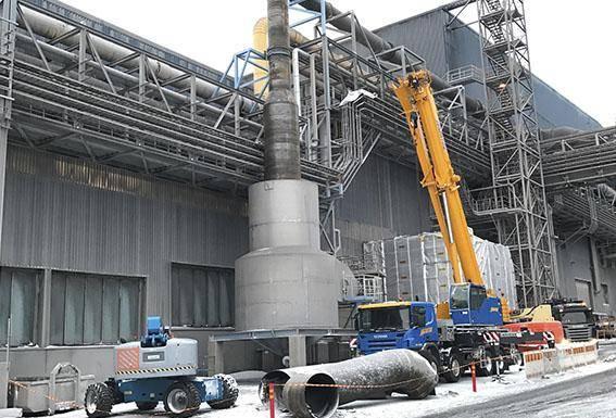 Droppavskiljare, Outokumpu Oy stålkonstruktioner Corrotech Oy Ab