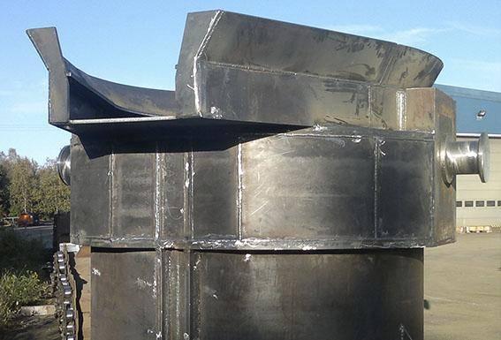 Gjutskänk, Outokumpu Oy stålkonstruktioner Corrotech Oy Ab
